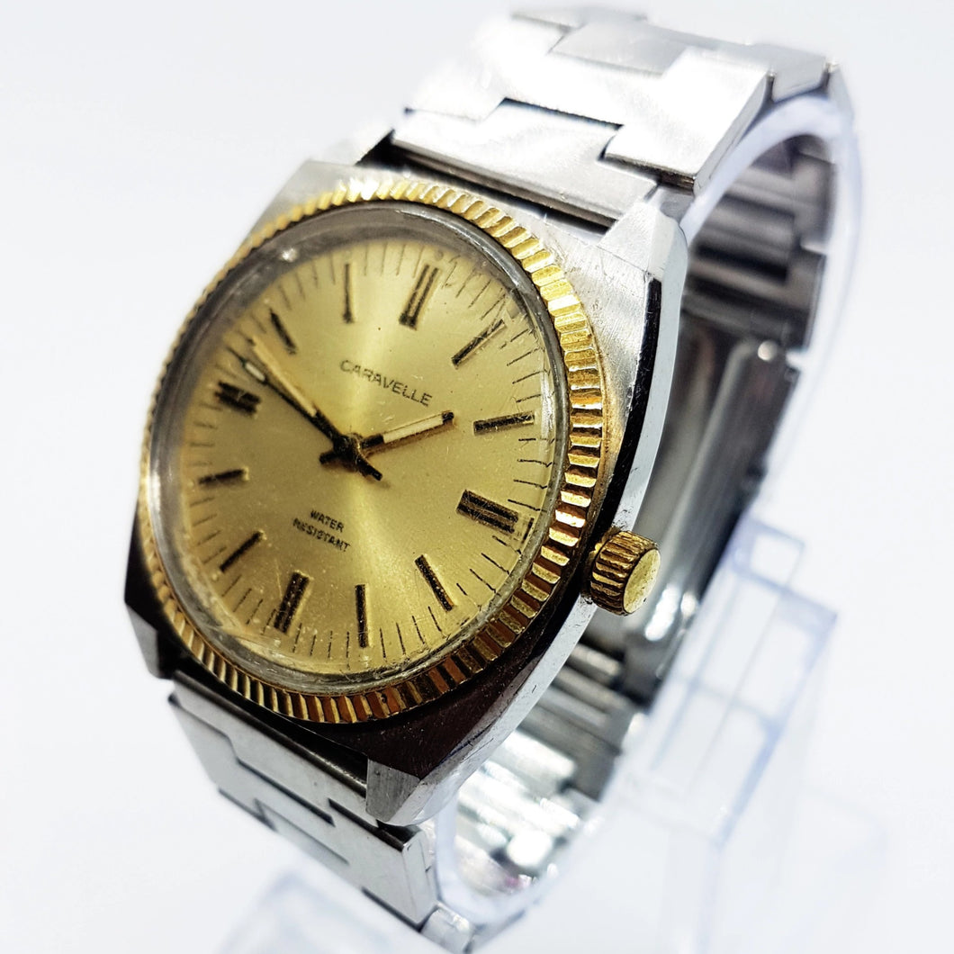 Shock Resistant Vintage Caravelle by Bulova Watch | Caravelle Automatic Watch - Vintage Radar