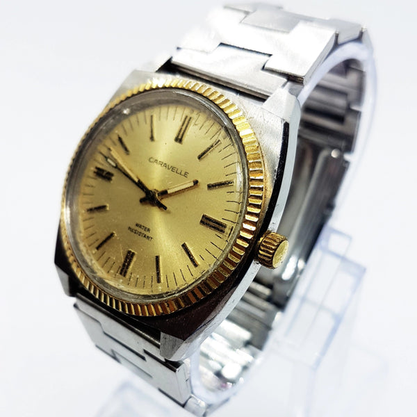 Shock Resistant Vintage Caravelle by Bulova Watch | Caravelle Watch - Vintage Radar
