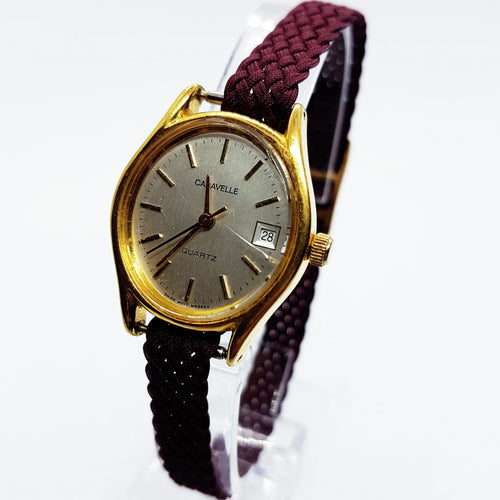 Tiny Caravelle By Bulova Quartz Watch | Bulova Watch Collection - Vintage Radar