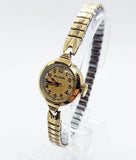 Gold-Tone Vintage Bulova Watch | Mechanical Watches for Women