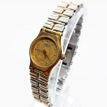 Load image into Gallery viewer, Two-Tone Antique Bulova Watch For Her | Caravelle By Bulova Watches - Vintage Radar