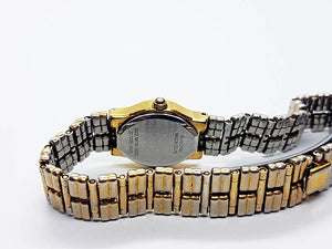 Two-Tone Antique Bulova Watch For Her | Caravelle By Bulova Watches - Vintage Radar