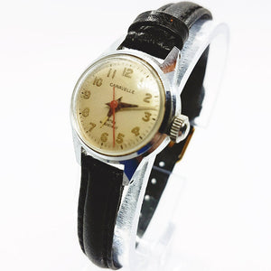 Tiny Caravelle By Bulova Watch | Water Resistant Vintage Watch For Men And Women - Vintage Radar