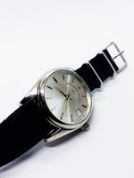 Hausser & Sachs Silver-tone Quartz Watch | Stunning Watch for men - Vintage Radar