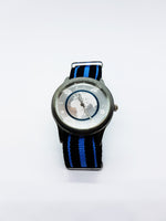 Modern Silver-Tone Men's Quartz Watch | Vintage Nato-Strap Watches - Vintage Radar