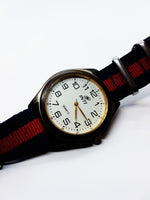 INTI Silver-Tone Vintage Quartz Watch | Men's Watches - Vintage Radar