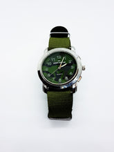 Load image into Gallery viewer, FT ARMY STYLE  Green Quartz Watch Collection | Vintage Watches For Men - Vintage Radar