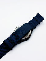 Nato Strap Black Dial Vintage Quartz Watch | Best Men's Watches - Vintage Radar