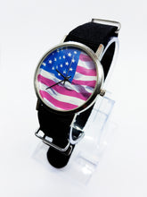 Load image into Gallery viewer, American Flag Vintage Quartz Watch | Best Vintage Watches For Sale - Vintage Radar