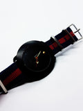Black Dial Skyline Quartz Watch For Men | Men's Fashion Watches - Vintage Radar