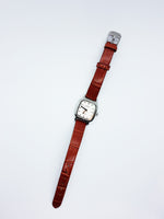 Square Auriol Watch For Ladies | Vintage Watches For Women - Vintage Radar