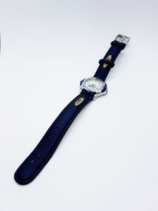 Silver And Blue Vintage Nike Watch | Quartz Watches For Men - Vintage Radar