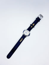 Load image into Gallery viewer, Silver And Blue Vintage Nike Watch | Quartz Watches For Men - Vintage Radar