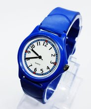 Load image into Gallery viewer, Blue Vintage Sports Watch For Men | Quartz Watches For Gents - Vintage Radar
