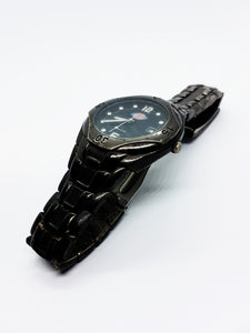 All Black DICKIES Vintage Watch For Men | Quartz Watches Collection - Vintage Radar