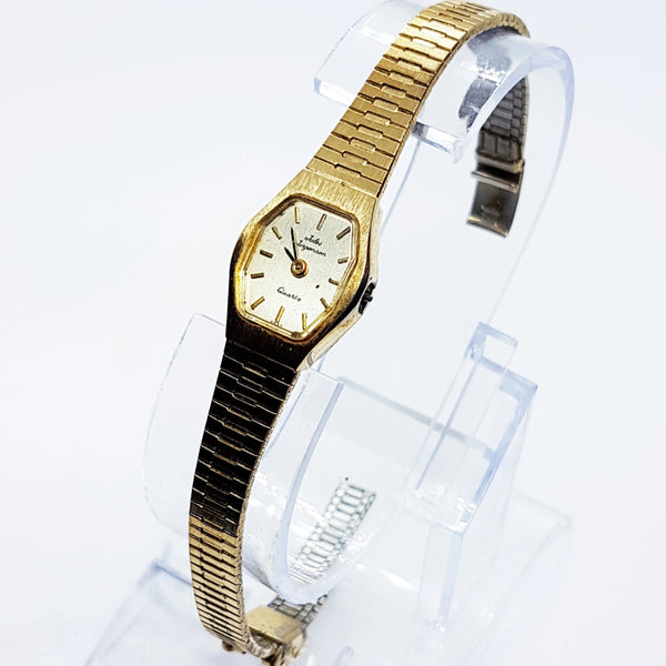 Gold-Tone JULES JURGENSEN Quartz Watch | Vintage Watch For Women - Vintage Radar