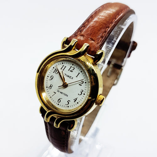 Boho Chic Gold Timex Watch for women | Pre-Owned Vintage Timex Watches - Vintage Radar