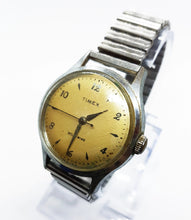 Load image into Gallery viewer, Rare 1950s Timex Mechanical Watch | 50s Vintage Self-Winding Timex Watch - U.S. Time Corporation - Vintage Radar