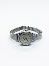 Load image into Gallery viewer, Classic Quartz Timex Watch for Women | Silver-Tone Vintage Watch - Vintage Radar