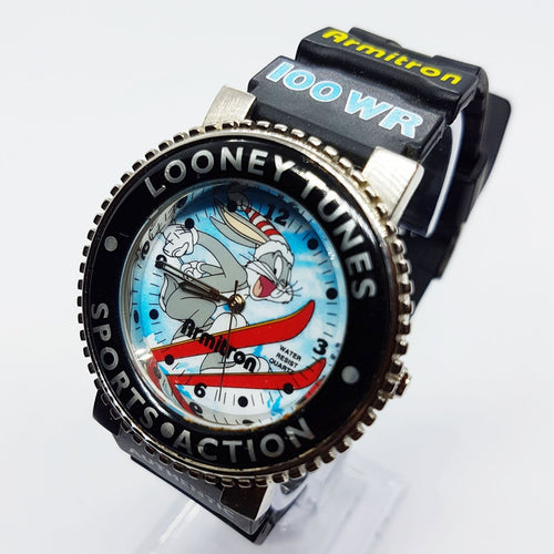 Bugs Bunny Sports Watch Vintage | Looney Tunes Sports Action Watch