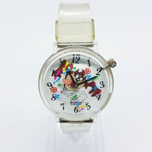 RARE Tasmanian Devil Armitron Watch | 90s خمر لوني تونز ووتش