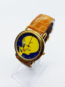 Gold-tone Tweety Bird Vintage Watch | Looney Tunes Armitron Watch