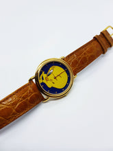 Load image into Gallery viewer, Gold-tone Tweety Bird Vintage Watch | Looney Tunes Armitron Watch