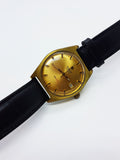 Tissot PR516 Swiss Date Watch | Vintage Tissot Gold-tone Wristwatch