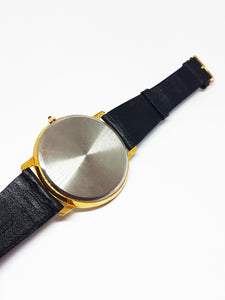 Large Moon Phase Watch For Men and Women | Gold-tone Moonphase Watch - Vintage Radar