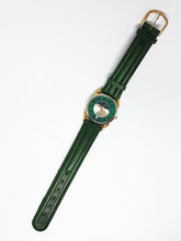 Load image into Gallery viewer, Peugeot Moon Phase Watch for Men & Women | Green Peugeot Car Watch - Vintage Radar