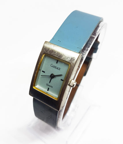 Square Carriage Watch For Ladies | Vintage Timex Watches - Vintage Radar