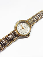 Two-Tone Classic Carriage Vintage Watch | Unisex Timex Watches - Vintage Radar