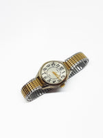 Indiglo Carriage By Timex Watch | Two-Tone Vintage Quartz Watch - Vintage Radar