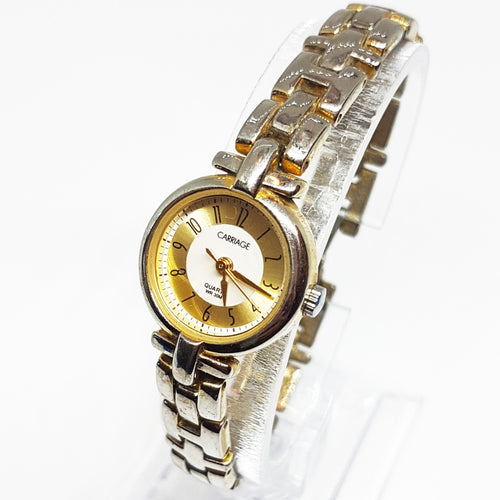 Silver-Tone Luxury Carriage Women's Watch | Timex Vintage Watches - Vintage Radar