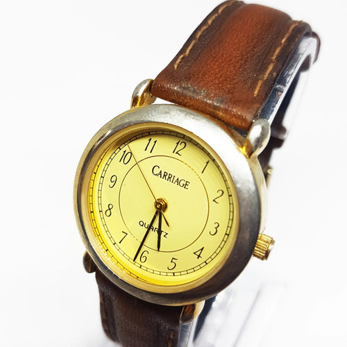 Old-school Vintage Carriage Watch | Classic Vintage Timex Watches - Vintage Radar