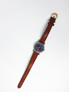 Stunning Blue Carriage Vintage Watch | Luxury Quartz Watches - Vintage Radar