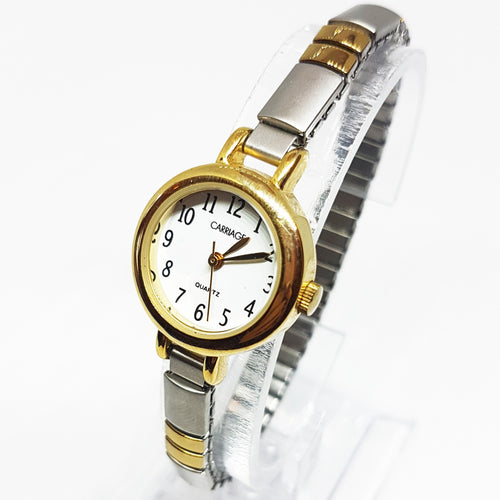 Luxurious Carriage Quartz Watch for Women | Vintage Women's Watches - Vintage Radar