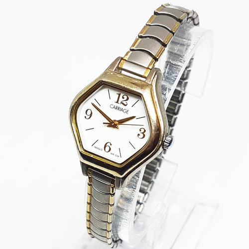 Diamond-Shaped Luxury Carriage Vintage Watch | Timex Watch Collection - Vintage Radar