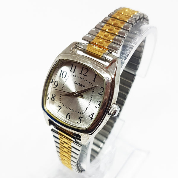 Art-deco Square Carriage by Timex Vintage Watch | Elegant Ladies Watch - Vintage Radar