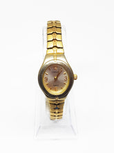 Load image into Gallery viewer, Tiny Gold-Tone Carriage By Timex Watch | Vintage Watch For Ladies - Vintage Radar