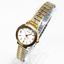 Load image into Gallery viewer, Two-Tone Art-deco Carriage Vintage Watch | Elegant Watch For Women - Vintage Radar