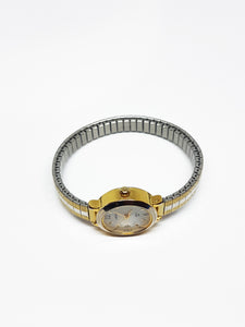 Two-Tone Art-deco Carriage Vintage Watch | Elegant Watch For Women - Vintage Radar