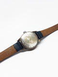 Blue Dial Carriage by Timex Watch | Tiny Blue Dial Women's Watch - Vintage Radar