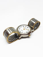 Retro Carriage Watch For Men | Two-Tone Vintage Men's Watches - Vintage Radar