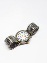 Load image into Gallery viewer, Silver-Tone Indiglo Carriage Watch | Best Luxury Watches - Vintage Radar
