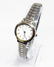 Load image into Gallery viewer, Silver-Tone Carriage Quartz Watch | Vintage Women's Watches - Vintage Radar