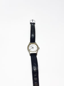 Silver-Tone Carriage Vintage Watch | Quartz Watch Collection - Vintage Radar