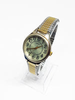 Carriage Vintage Watch For Men | Two-Tone Men's Quartz Watch - Vintage Radar