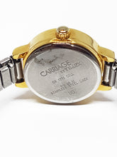 Load image into Gallery viewer, Two-Tone Vintage Carriage Watch | Luxury Quartz Watches - Vintage Radar