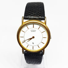 Load image into Gallery viewer, Gold-tone Luxury Vintage Citizen Watch | Best Citizen Quartz Watches - Vintage Radar
